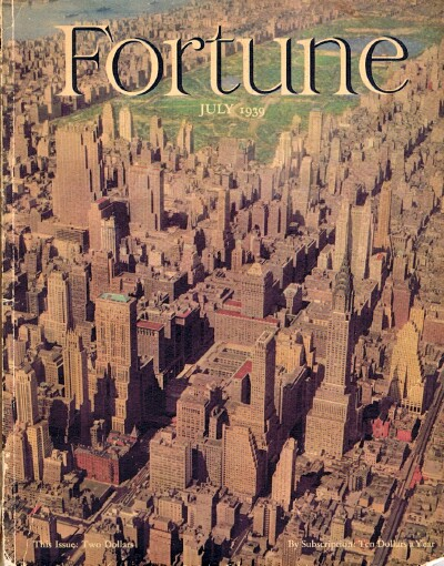 Image for Fortune Magazine (July 1939)