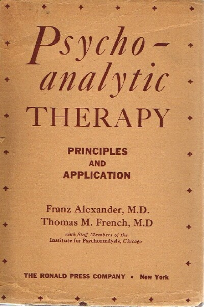 Image for Psychoanalytic Therapy Principles and Application