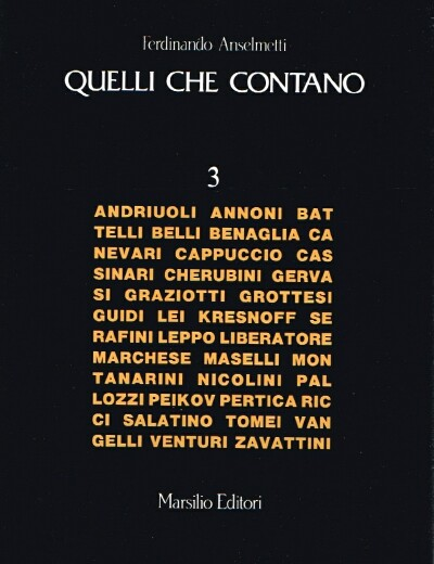 Image for Quelli Che Contano
