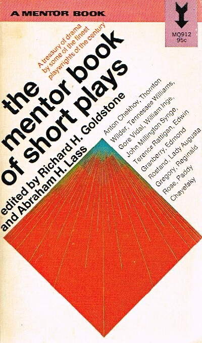 Image for The Mentor Book of Short Plays A treasury of drama by some of the finest playwrights of the century