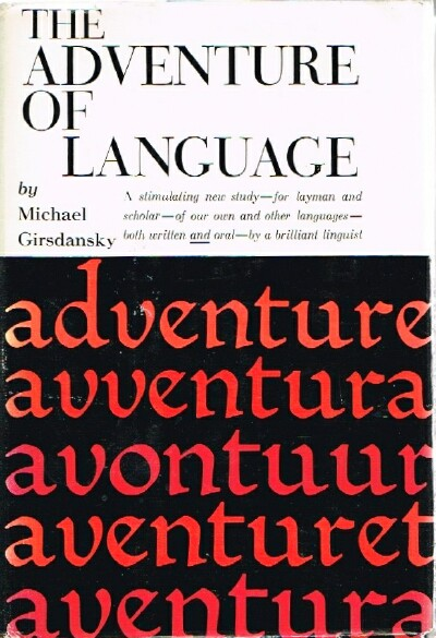 Image for The Adventure of Language
