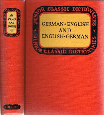 Image for Junior Classic German Dictionary; German-English and English-German