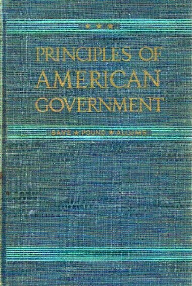 Image for Principles of American Government