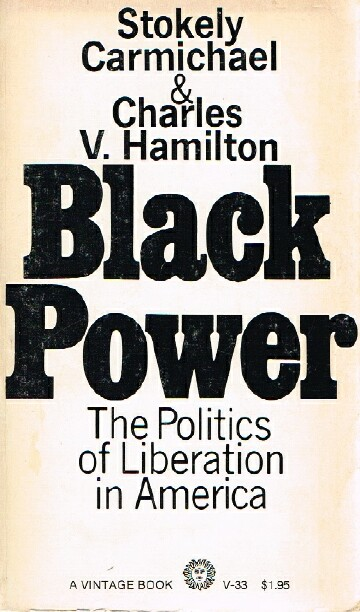 Image for Black Power; The Politics of Liberation in America