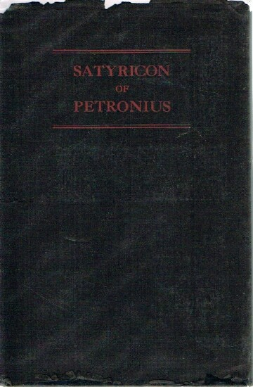 Image for Satyricon of Petronius Arbiter translation ascribed to Oscar Wilde