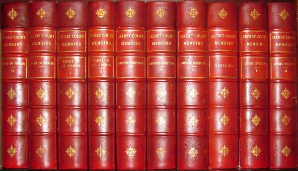 Image for Secret Court Memoirs (Edition de Grand Luxe, ten volumes, complete).
