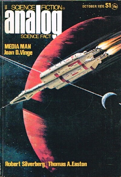 Image for Analog: Science Ficiton/Science Fact (Vol. XCVI, No. 10, October 1976)
