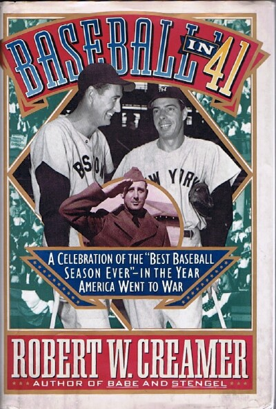 "Image for Baseball in '41  A Celebration of the ""Best Baseball Season Ever"""