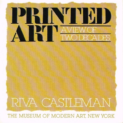 Image for Printed Art  A View of Two Decades