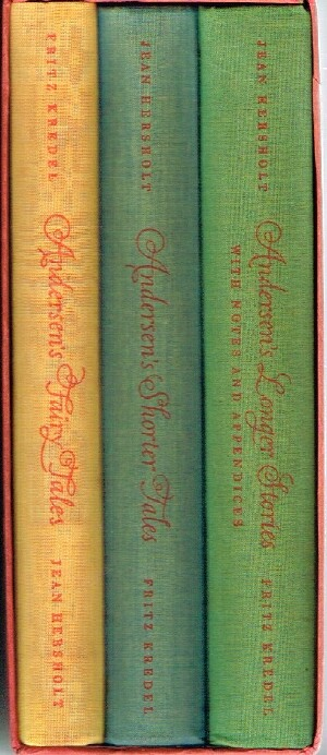 Image for Andersen's Fairy Tales; Shorter Tales; Longer Stories (Three Volumes, Complete, in Slipcase)