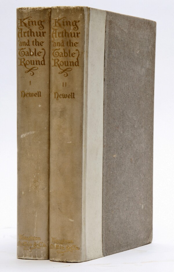 Image for King Arthur and the Table Round (Two Volumes, Complete): Tales chiefly after the Old French of Crestien of Troyes with an Account of Arthurian Romance, and Notes by William Wells Newell, in Two Volumes
