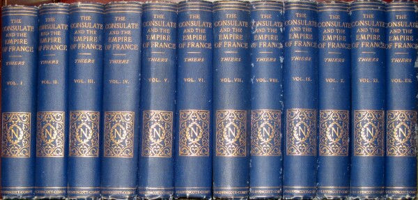 Image for The Consulate and the Empire of France under Napoleon (12 Volumes, Complete)