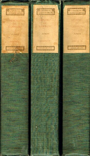 Image for MEMOIRS OF THE EMPEROR NAPOLEON: From Ajaccio to Waterloo, As Soldier, Emperor, Husband: in Three Volumes (Three Volumes, Complete)
