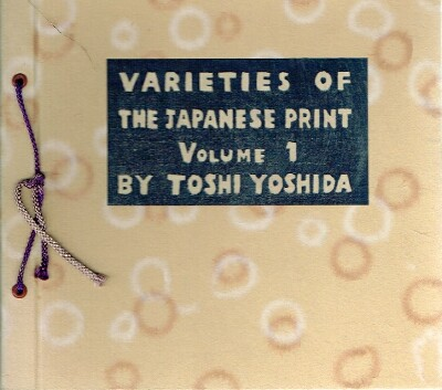 Image for Varieties of The Japanese Print, Volume 1