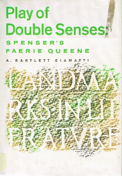 Image for Play of Double Senses: Spencer's Fairie Queen