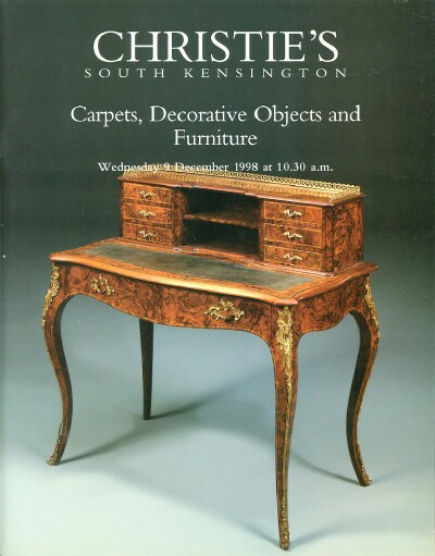 Image for Carpets, Decorative Objects and Furniture (South Kensington, 9 December 1998)