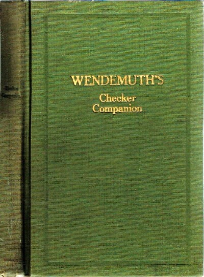 Image for Wendemuth's Checker Companion