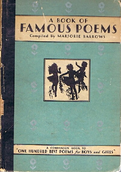 Image for A Book of Famous Poems for Older Boys and Girls