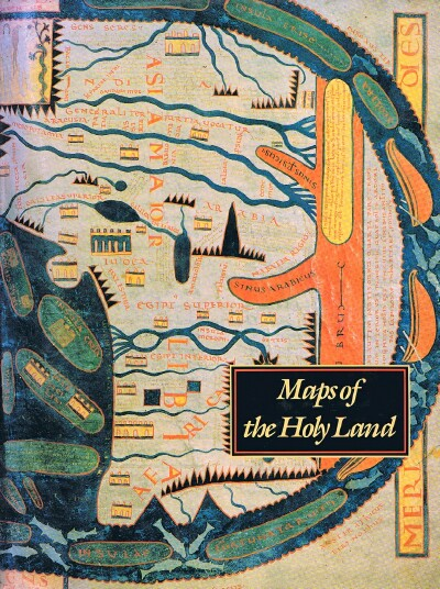 Image for Maps of the Holy Land: Images of Terra Sancta through Two Millennia