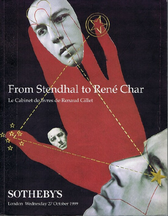 Image for From Stendhal to Rene Char: Le Cabinet De Livres De Renaud Gillet (London, 27 October 1999)