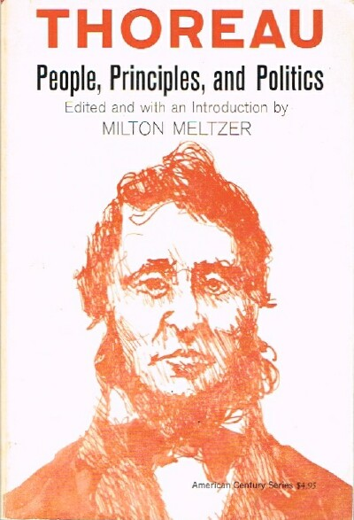 Image for Thoreau: People, Principles, and Politics