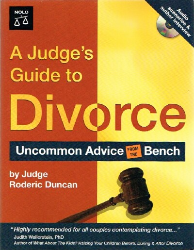 Image for A  Judge's Guide to Divorce