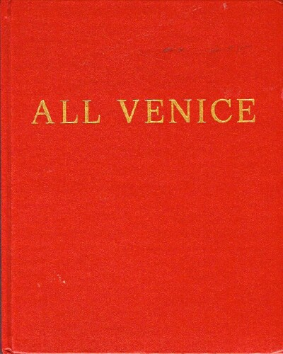 Image for All Venice In 140 color photographs