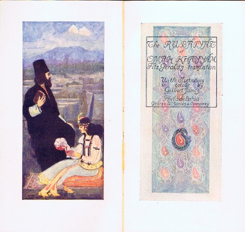 Image for Rubaiyat of Omar Khayyam, The Astronomer Poet of Persia: Done into English by Edward Fitz Gerald