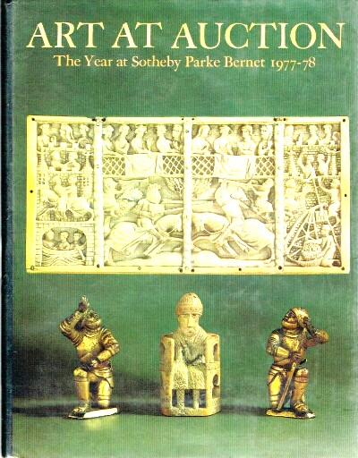 Image for Art at Auction 1977 - 1978 The Year at Sotheby Parke Bernet