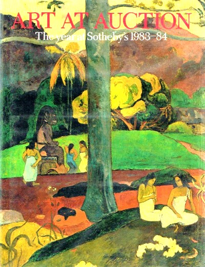 Image for Art at Auction 1983 - 1984 The Year at Sotheby's