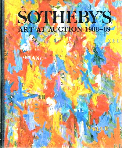 Image for Art at Auction 1988 - 1989 The Year at Sotheby's