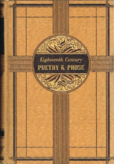 Image for Eighteenth Century Poetry & Prose