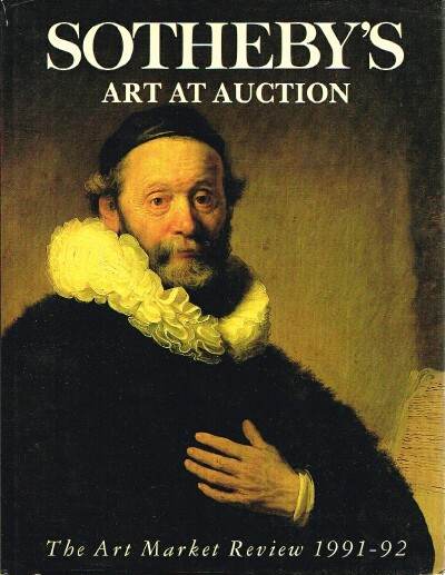 Image for Art at Auction 1991 - 1992 The Art Market Review