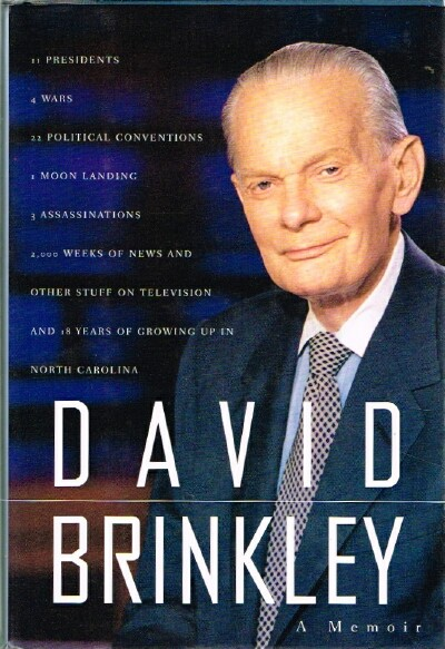 Image for David Brinkley A Memoir