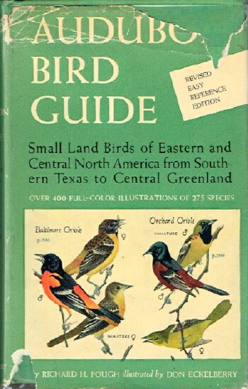 Image for Audubon Bird Guide: Small land Birds of Eastern and Central North America from Southern Texas to Central Greenland