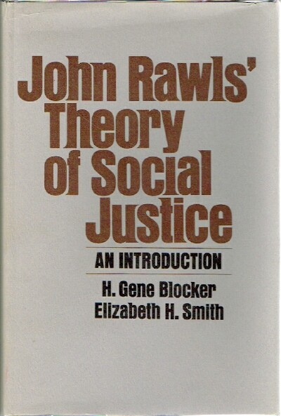 Image for John Rawls' Theory of Social Justice An Introduction