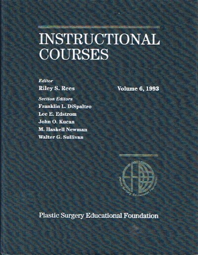 Image for Instructional Courses Volume 6, 1993