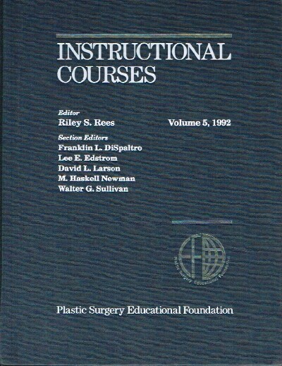 Image for Instructional Courses Volume 5, 1992