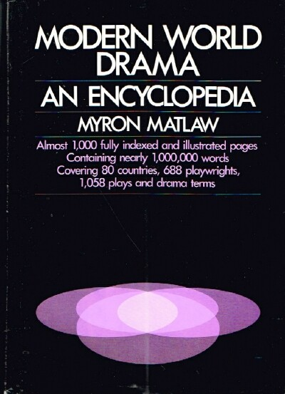 Image for Modern World Drama An Encyclopedia
