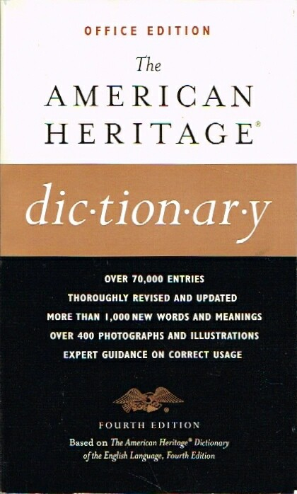 Image for The American Heritage Dictionary Office Edition