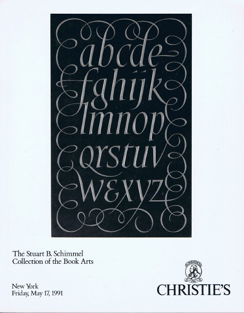 Image for The Stuart B. Schimmel Collection of the Book Arts (May 17, 1991)