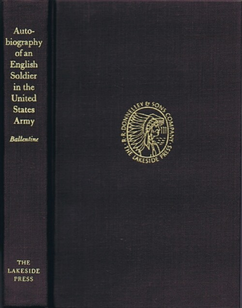 Image for Autobiography of An English Soldier in the UNited States Army
