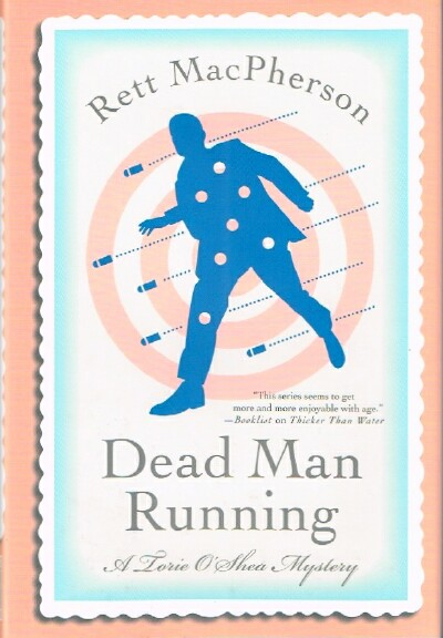 Image for Dead Man Running A Torie O'Shea Mystery