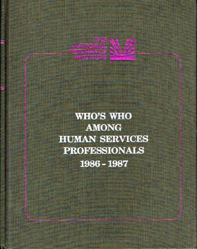 Image for Who's Who Among Human Services Professionals 1986-1957
