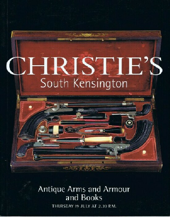 Image for Antique Arms and Armour and Books (19 July 2001, South Kensington)