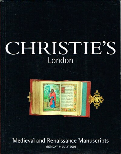 Image for Medieval and Renaissance Manuscripts (London, 9 July 2001)