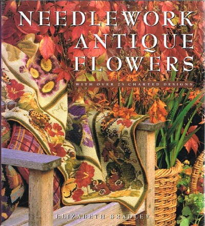Image for Needlework Antique Flowers With Over 25 Charted Designs