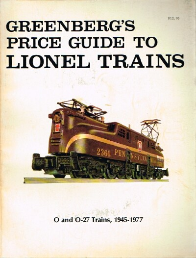 Image for Greenberg's Price Guide to Lionel Trains