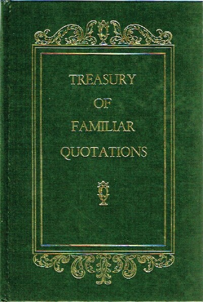 Image for Treasury of Familiar Quotations