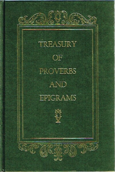 Image for Treasury of Proverbs and Epigrams